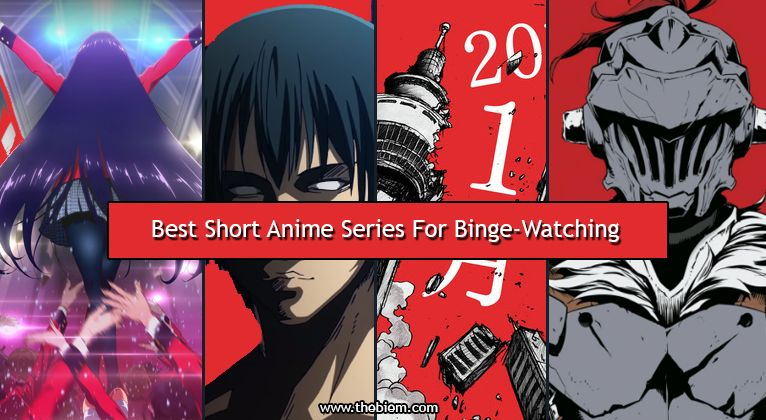 what are the best short anime series for binge watching?